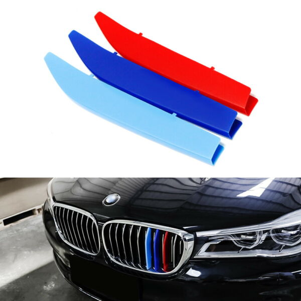 M-Colored Grille Insert Trims For 16-19 BMW G11G12 7 Series w 9-Beam Grill