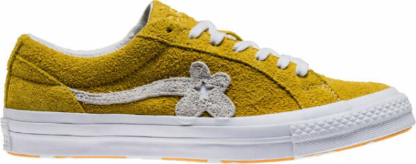 Converse One Star x Tyler Creator Golf Le Fleur 160323C Solar Yellow all size