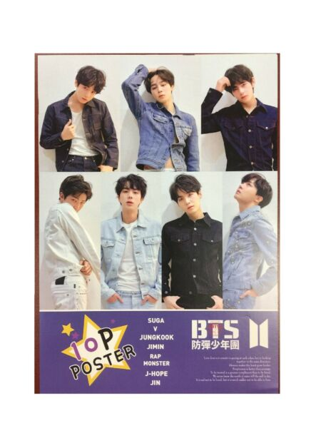Kpop High Quality BTS Bangtan Boys 10 Photo Posters - US Seller