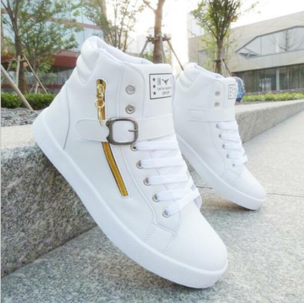 2017 Men's Casual High Top Sport Sneakers Athletic Running Shoes Hip-hop shoes