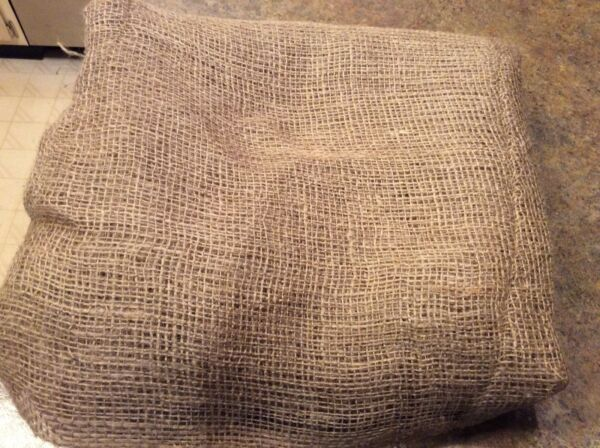 5 ounces Burlap Fabric 5 yards 40 inches wide