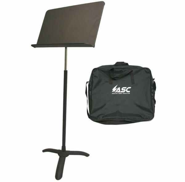 Professional Sheet Music Holder Stand Band Orchestra Choir Portable Stand W Bag $37.99