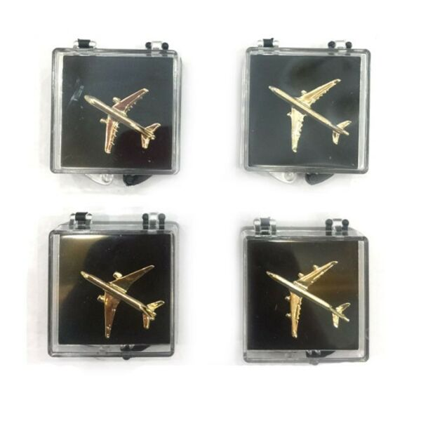 Airplane Lapel Pin Gold Plated Airbus A321 Boeing 777 GREAT GIFT