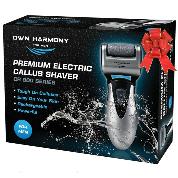 Electric Callus Remover & Rechargeable Pedicure Tools For Men by Own Harmony ...