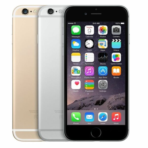 Apple iPhone 6 - 64GB - (AT&T) Smartphone - Space Gray - Silver - Gold