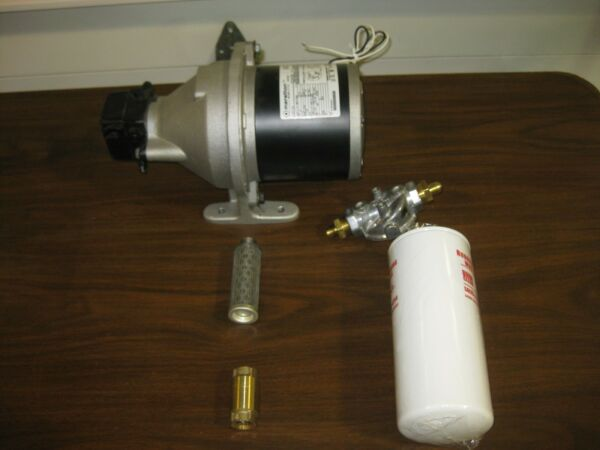 Waste oil furnace pump and filtering system WEDCO SUNFIRE CLEAN BURN $795.00