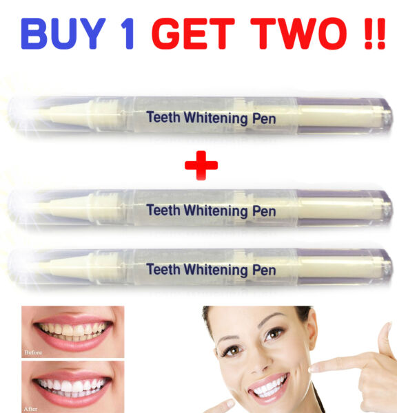 45% Peroxide Teeth Whitening Tooth Bleaching Whitener Pen Oral Gel System $8.95