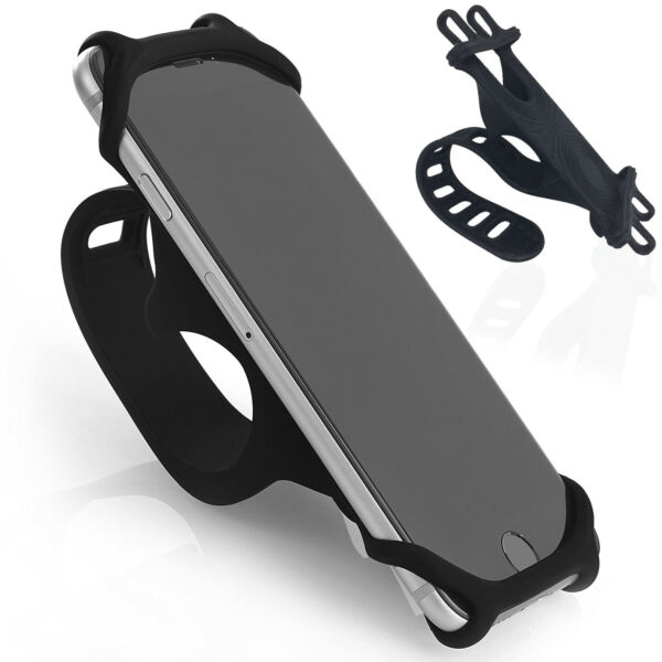 Bicycle amp; Mountain Bike Cell Phone Handle Bar Holder Cradle for Samsung iPhone $9.98