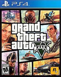 BRAND NEW SEALED Grand Theft Auto V 5 (Sony PlayStation 4, 2014) GTA PS4