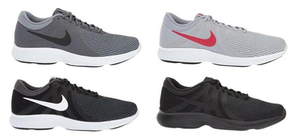NIKE Men's Running Sneakers in 4 Colors, Med D & XWide 4E