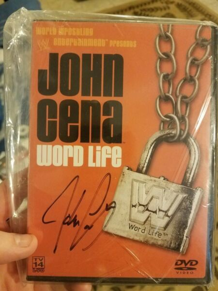 John Cena Signed His First Ever WWE Produced DVD
