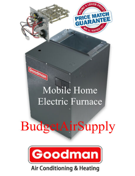 Goodman 4 ton Mobile Home 1600CFM Electric Furnace MBR1600AA-1 w 20KW Heat Strip
