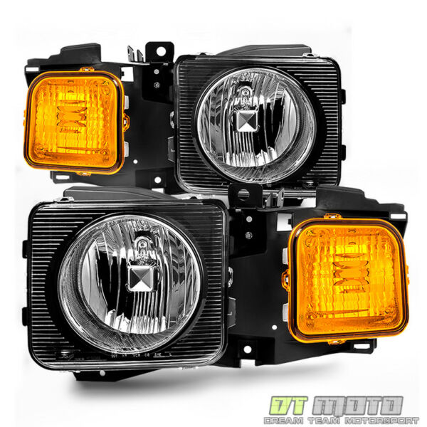 2006 2010 Hummer H3 H3T Headlights Headlamps Aftermarket LeftRight 06 10 Pair $138.99