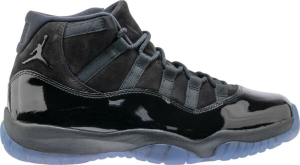 Nike Air Jordan 11 Cap and Gown Retro XI Prom Night Black 378037-005