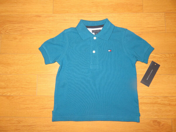 NWT Boys Tommy Hilfiger Pull Over Shirts (Retail $19.50)