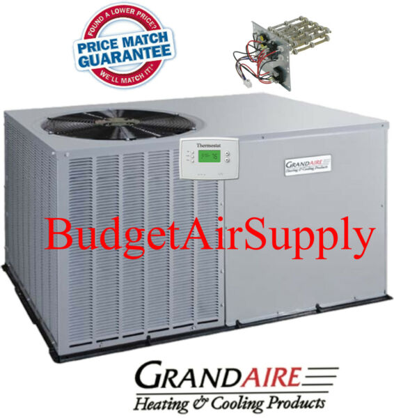 4 Ton 14 seer ICP Grandaire Model A C Package unit Heat strip TSTAT $2695.00