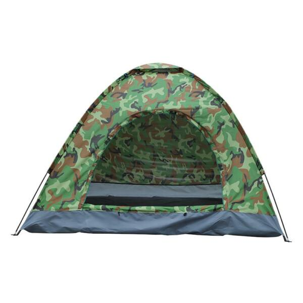 Outdoor 3 4 Persons Camping Tent Automatic Folding Quick Shelter Outdoor Hiking $23.99