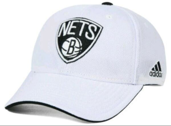 Brooklyn Nets Adidas NBA Authentic Team Flex Fitted Hat! Size L/XL! BRAND NEW!