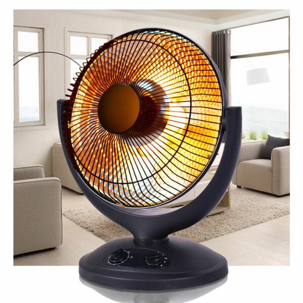 Electric Parabolic Oscillating Infrared Radiant Space Heater WTimer Home office