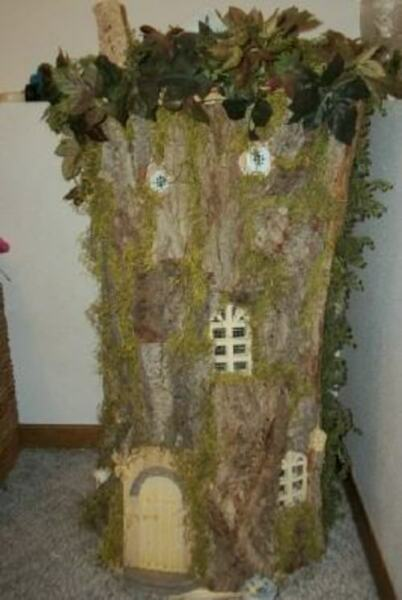 WOW MADE TO ORDER FANTASY FAIRY HOUSE DOLLHOUSE DOLL HOUSE HEIRLOOM QUALITY OOAK