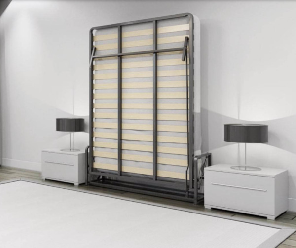 Wallbedking Vertical Wall Bed Folding Guest bed Pull Down Murphy bed All Sizes $1249.00