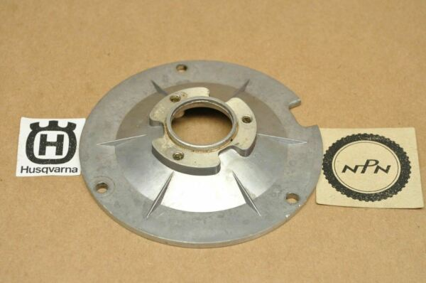 NOS New Husqvarna 1981 1982 420 Automatic Stator Mounting Plate 161477701 $47.49