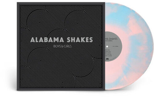 Alabama Shakes Boys amp; Girls New Vinyl LP Blue Colored Vinyl Pink