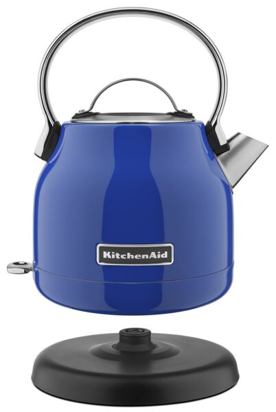 KitchenAid Stainless Steel Electric Water Tea Kettle RKEK1222TB Twilight Blue $69.78