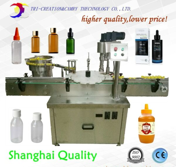 bottle sealing machine with feederautomatic capping machineCE