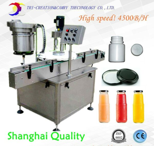 automatic capping machinewith feederscrew capping machinebottle sealing
