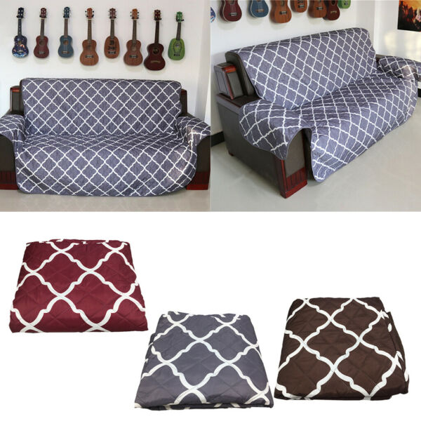 Water Resistant Sofa Cover Furniture Protector Pet Sofa Throw for 1 3 Seater $50.84