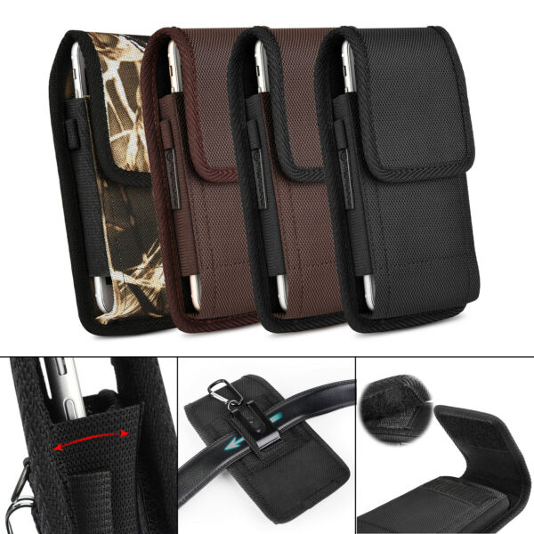 Belt Clip Holster Pouch Carrying Case For Samsung Galaxy S10 Plus S9 S8 Note 9 8 $9.49