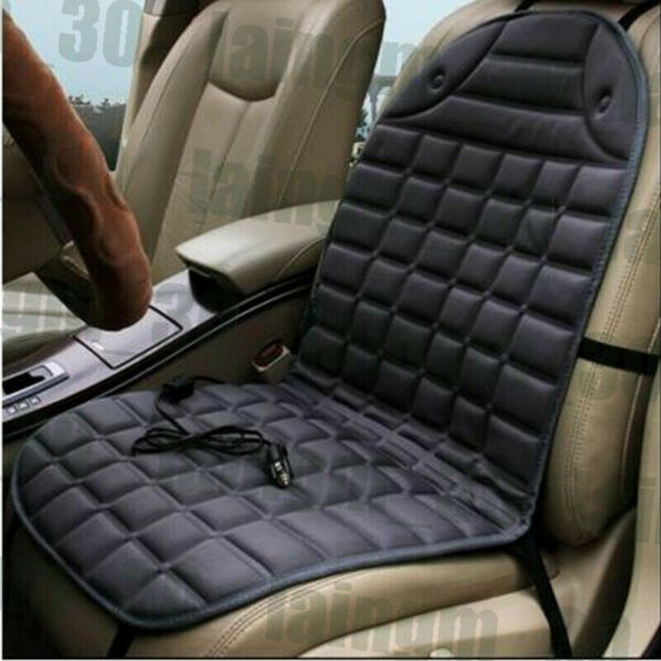 Car Seat Heater Cushion Cover Warmer Pad Mat Quick Warming For Winter Driving