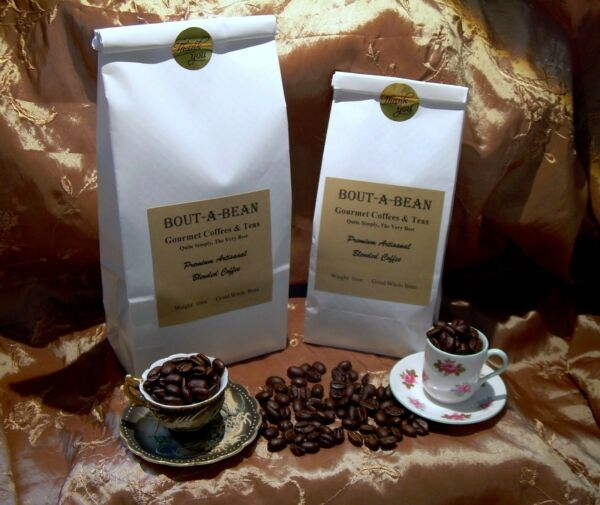 Coffee Whole Bean Premium Dark Chocolate Almond Toffee Flavor Medium Roast CB*