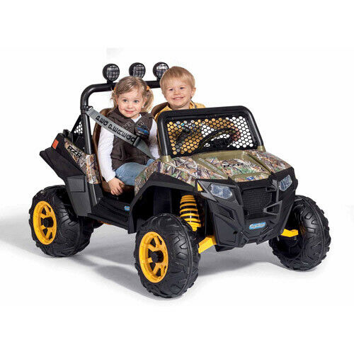 Kids Battery Powered Car 12 Volt Girls Ride On Electric Camo Ranger Jeep RZR Toy $656.04