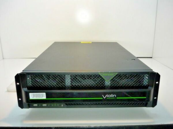 Violin Memory V-6616-HA64-8XFC SLC All Flash Memory Storage Array SAN 17.5TB!