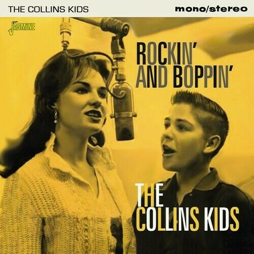 The Collins Kids Rockin amp; Boppin New CD UK Import