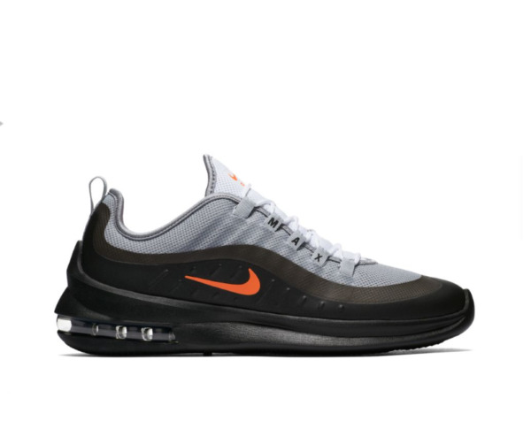 New Men's Nike Air Max Axis Shoes (AA2146-001) Wolf Grey//Total Crimson-Black-An