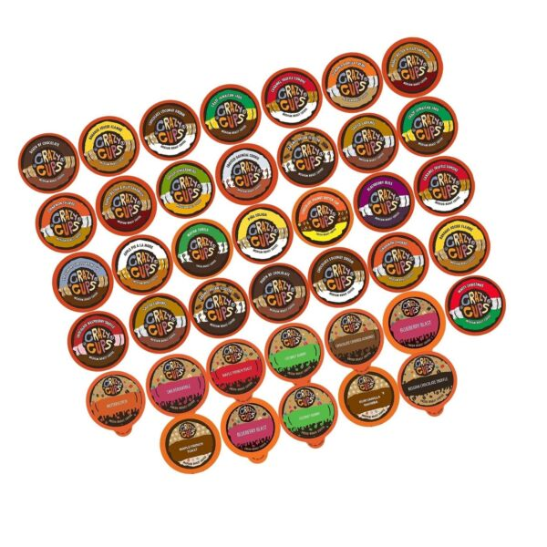 Crazy Cups Flavored Coffee for the Keurig K Cups 2.0 Brewers Variety Pack S...