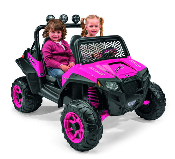 Kids Battery Powered Car 12 Volt Girls Ride On Electric Pink Ranger Jeep Toy $625.44