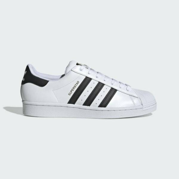 New Adidas Men's Originals Superstar Shoes (C77124)  White//Black-White