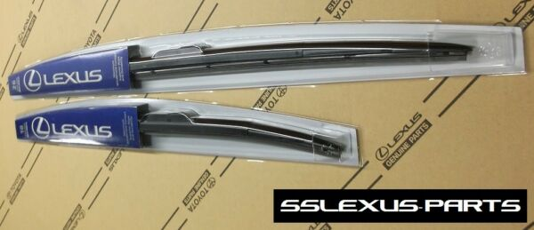 Lexus CT200H (2011-2017) OEM Genuine Front WIPER BLADE SET - (Sleek Profile)