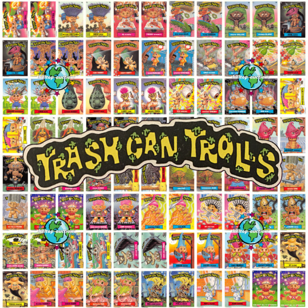 TRASH CAN TROLLS PICK-A-CARD 1ab-44ab or WRAPPER or PROMO! garbage pail kids