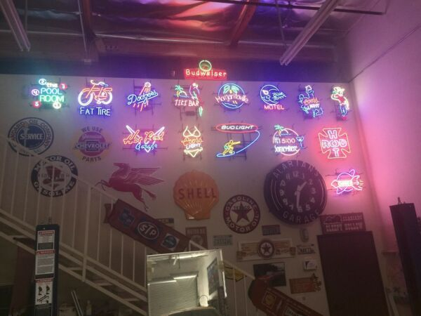 15 -Neon Signs Various Vintage COMPLETE COLLECTION ** LOOK at PHOTOs