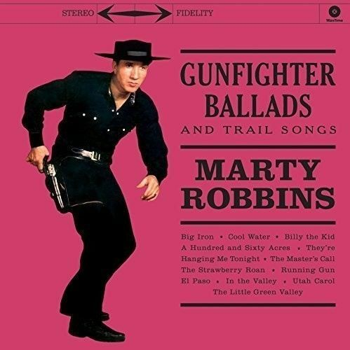 Marty Robbins Gunfighter Ballads amp; Trail Songs New Vinyl
