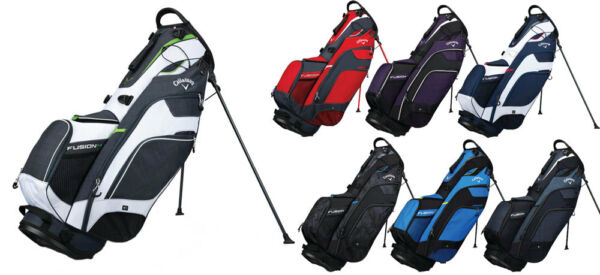 Callaway Fusion 14 Way Stand Bag 2018 Golf Carry Bag New - Choose Color