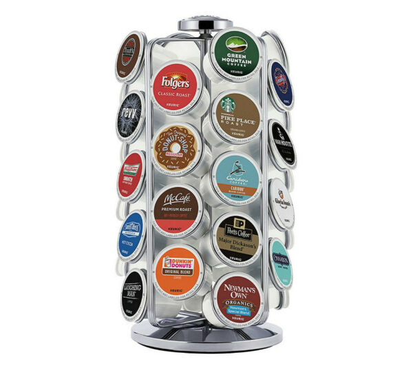 Keurig 121609 K-Cup Pod Carousel Holds 36 K-Cups