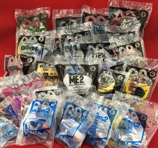 2013 Happy Meal Toys Transformers Smurfs Despicable Me & More! YOU CHOOSE!