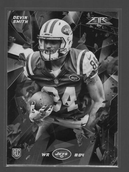 2015 Topps Fire #30B DEVIN SMITH JETS