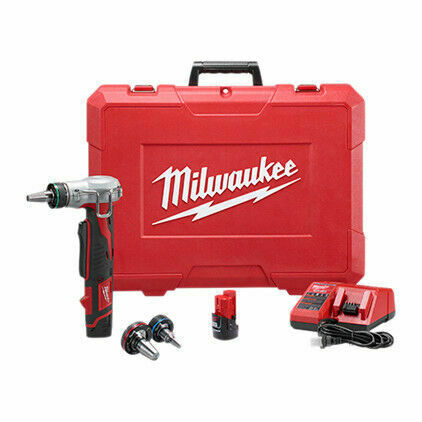 NEW Milwaukee 2432-22 M12 12-Volt CORDLESS  Propex Expansion Tool Kit
